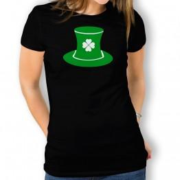 Camiseta St Patrick Sombrero para mujer
