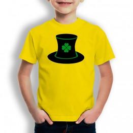 Camiseta St Patrick Sombrero para niños
