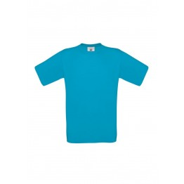 Camiseta Azul Atolon B&C Exact 150