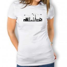 Camiseta Skyline para mujer