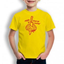 Camiseta Mata Tu Confort para niños