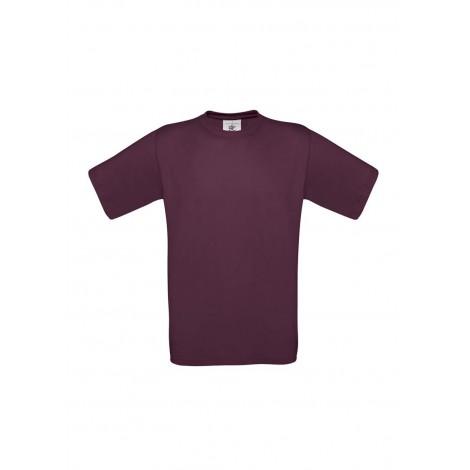 Camiseta Burdeos B&C Exact 150