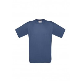 Camiseta Denim B&C Exact 150