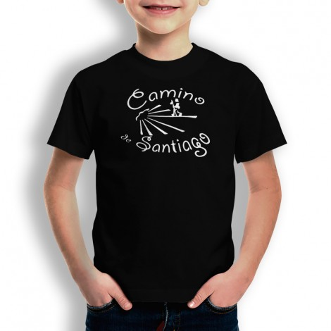 Camiseta Camino De Santiago para niños