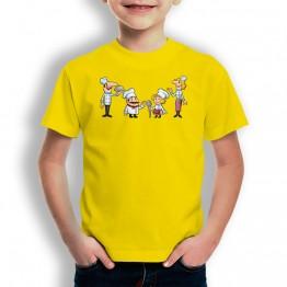 Camiseta Familia De Chefs para niños