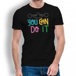 Camiseta You Can Do It para hombre
