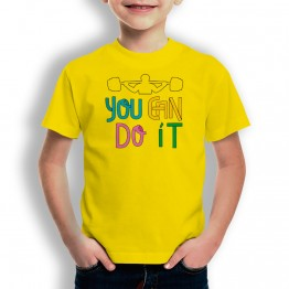Camiseta You Can Do It para niños