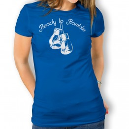 Camiseta Ready To Rumble para mujer