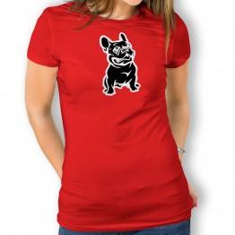 Camiseta Bulldog para mujer