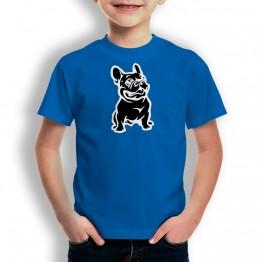 Camiseta Bulldog para niños