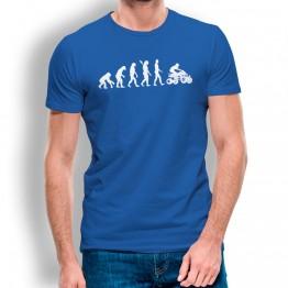 Camiseta Evolución a Quad para hombre