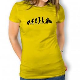 Camiseta Evolución a Quad para mujer