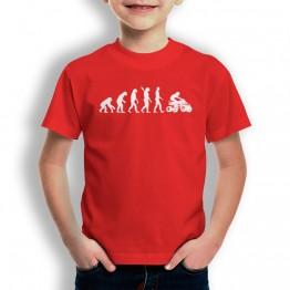 Camiseta Evolución a Quad para niños