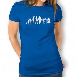 Camiseta Evolución Inicio a Fin para mujer