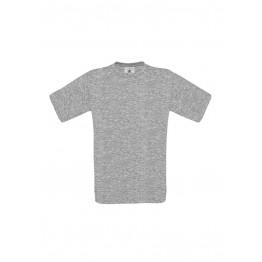 Camiseta Gris Sport B&C Exact 150