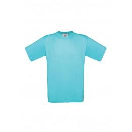 Camiseta Turquesa B&C Exact 150