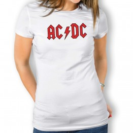 Camiseta ACDC para mujer