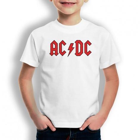 Camiseta ACDC para niños