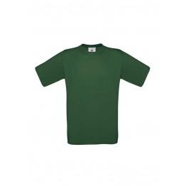 Camiseta Niño Verde Botella  B&C Exact 150