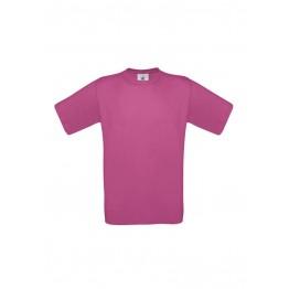 Camiseta Niño Fucsia B&C Exact 150