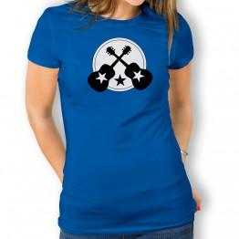 Camiseta Guitarra con Estrella para mujer