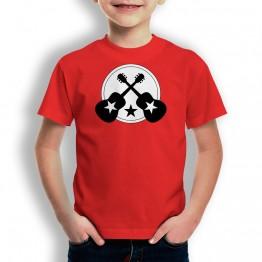 Camiseta Guitarra con Estrella para niños