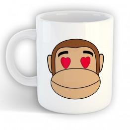 Taza Mono Franky Enamorado