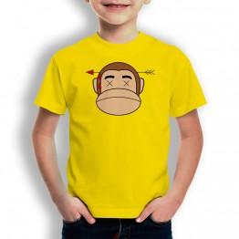 Camiseta Mono Franky con Flecha para niños