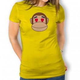 Camiseta Mono Franky Enamorado para mujer