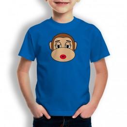 Camiseta Mono Franky Novia para niños