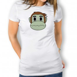 Camiseta Mono Franky Zombi para mujer
