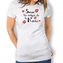 Camiseta Somos Las Amigas para mujer