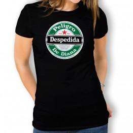 Camiseta Despedida Cerveza para mujer