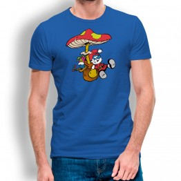 Camiseta Pitufo Noel HOMBRE