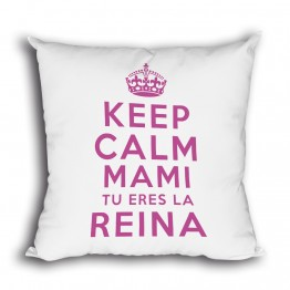cojin Keep Calm Mami