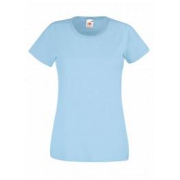 Camiseta Valueweight Mujer Azul Cielo