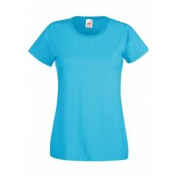 Camiseta Valueweight Mujer Azul Azure