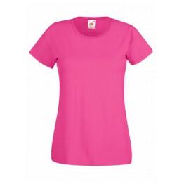 Camiseta Valueweight Mujer fucsia