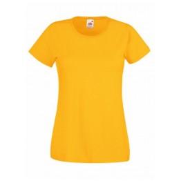 Camiseta  Valueweight Mujer Amarillo Girasol