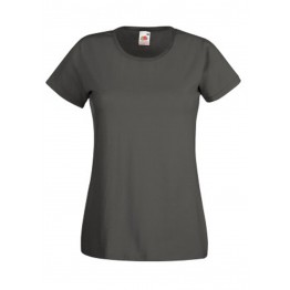 Camiseta Valueweight Mujer Gris Grafito