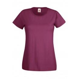 Camiseta Valueweight Mujer Granate
