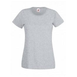 Camiseta Valueweight Mujer Gris Jaspeado