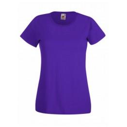 Camiseta Valueweight Mujer Purpura