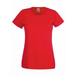 Camiseta Valueweight Mujer roja