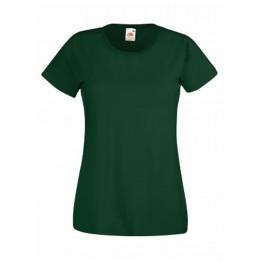 Camiseta Valueweight Mujer Verde Botella
