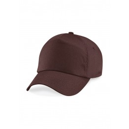 Gorra Adulto 5 Paneles Chocolate