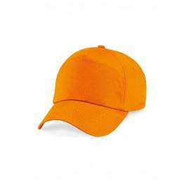 Gorra Adulto 5 Paneles Naranja