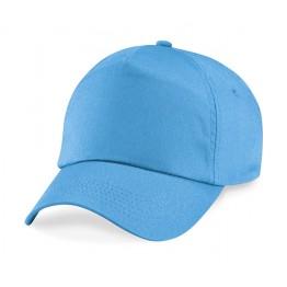 Gorra niño de 5 Paneles Azul Surf