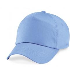 Gorra Adulto 5 Paneles Azul Cielo