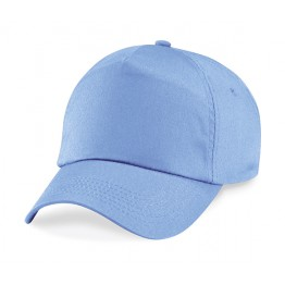Gorra niño de 5 Paneles Azul cielo